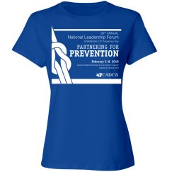 2018 National Leadership Forum- Ladies T-Shirt- Royal