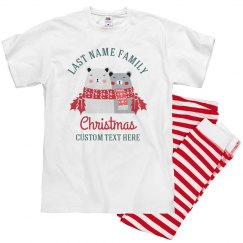 Happy Bears Family Christmas Pajamas