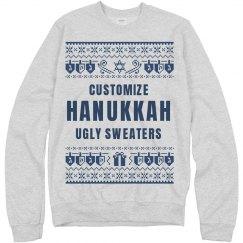 Custom Hanukkah Sweaters