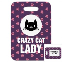 Crazy Cat Lady Tag