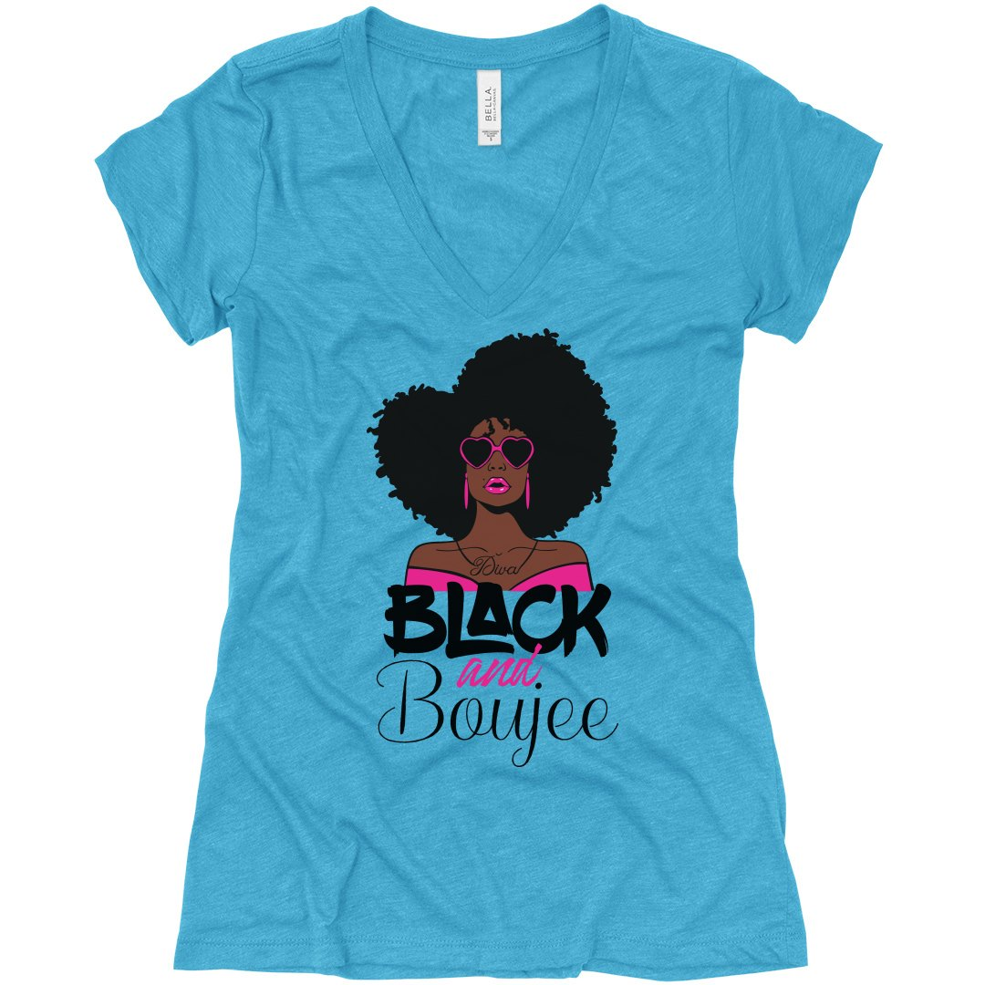 Soft Triblend V-Neck T-Shirt