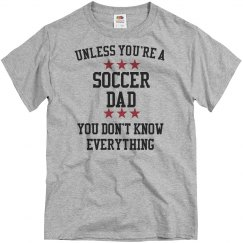 Soccer dad knows all