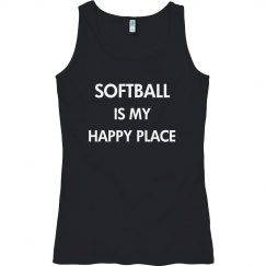 Softball is my happy place