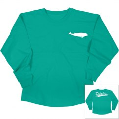 Dolphins long sleeve shirt 2.