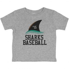 Toddler Tee - Sharks Ball