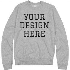 Custom Sweatshirts No Minimum