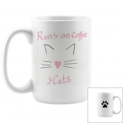 Coffee and cats mug