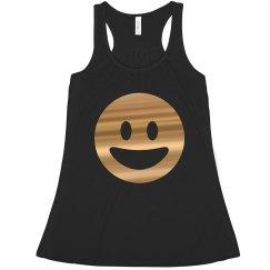 Happy Gold Emoji