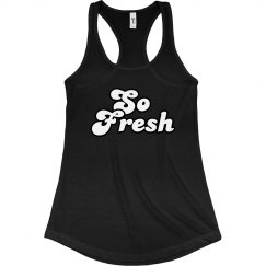 So Fresh Black Tank