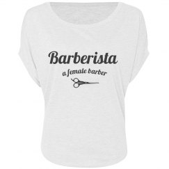 Barberista off the Shoulder - White