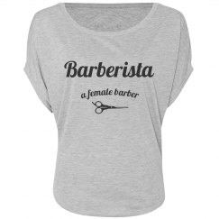Barberista off the Shoulder - Gray