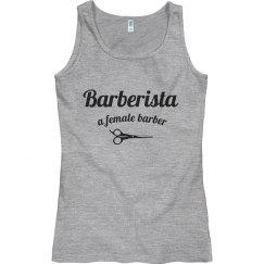 Barberista tank top - Gray