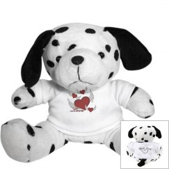 Love Hearts Puppy Dog