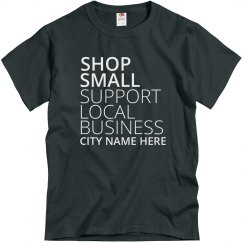 Shop Local Business Tee