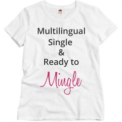 Multilingual Single Ready around Mingle Grey