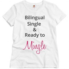 Bilingual Single Ready to Mingle Grey