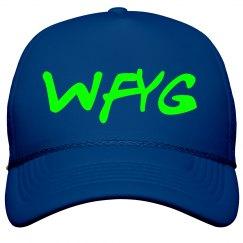 WFYG Trucker Hat Blue