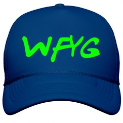 WFYG Trucker Hat Blue