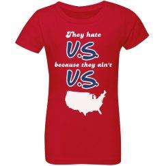 Hate U.S. Ain't U.S. (Girls)