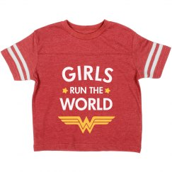 Wonder Girls Run the World Toddler Tee