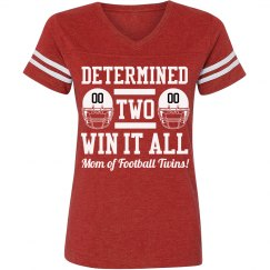 Football Mom Twins Pride Pun With Custom Text!