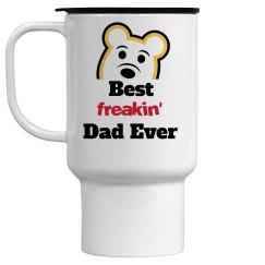 Best Freakin' Dad Ever Mug