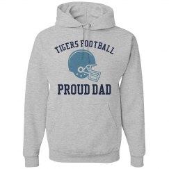 Tigers Football Hoodie