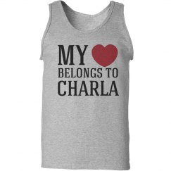 Heart belongs to charla