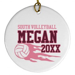Volleyball Ornament