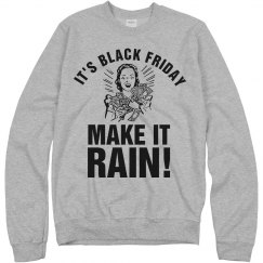 Raining on Black Friday