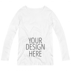 Custom Long Sleeve Maternity Shirt