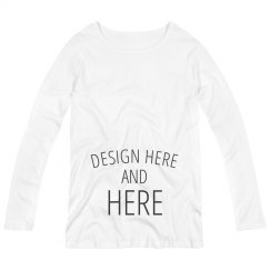 Personalized Maternity Long Sleeve