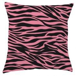 Pink zebra print.