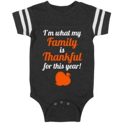 My Family Is Thankful For Me