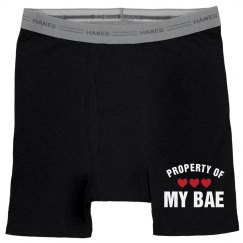 Property Of My Bae Gifts For Him