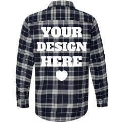 Custom Flannel Shirt Backprints