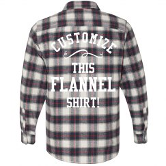 Personalized Flannel Shirts!
