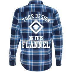 Custom Fashion Flannel Design