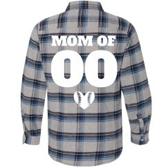 Baseball Mom Custom Player Number
