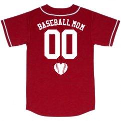 Unisex Mesh Baseball Jersey