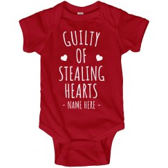 Guilty of Stealing Hearts Custom Bodysuit