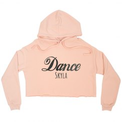 Misses Peach Crop Name Hoodie  $50