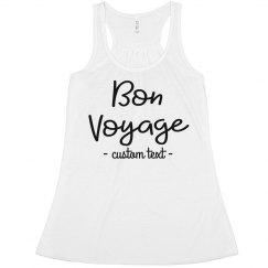 Bon Voyage Custom Vacation Summer Crop