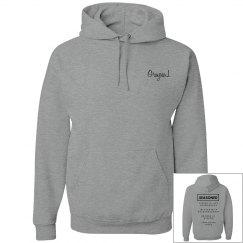 Seasoned Hoodie Grey/Black