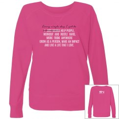 I Just Wanna Pullover (Pink)
