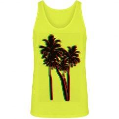 Blurred Lines Palm Tree