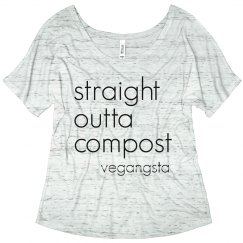 straight outta... simple tee