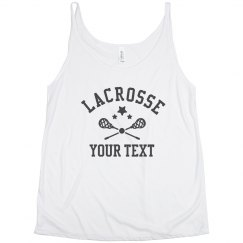 Custom Stars And lacrosse Sticks