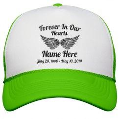 Neon Snapback Trucker Hat