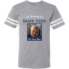 We Love You Baby Custom Memorial Tee
